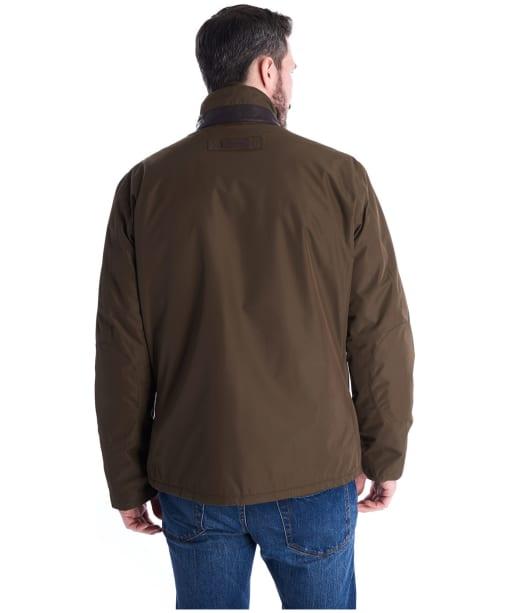Men's Barbour Borrowdale Waterproof Jacket - Dark Olive