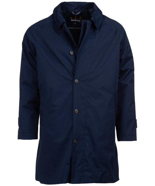 Men's Barbour Maghill Waterproof Trench - Navy