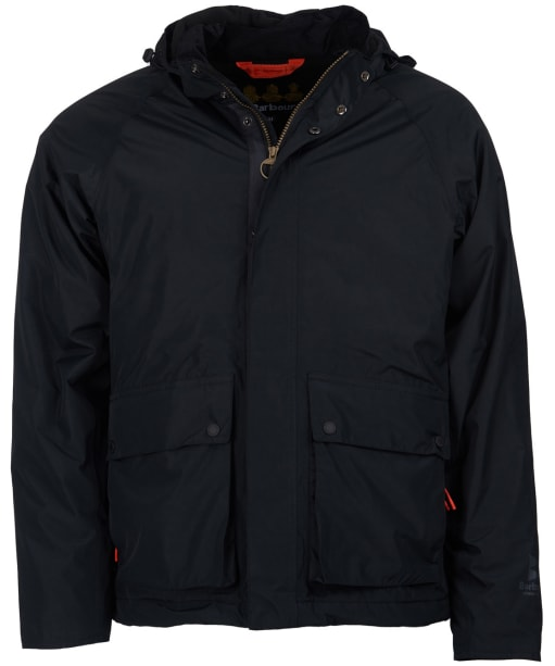 Men's Barbour Cirrus Waterproof Jacket - Black