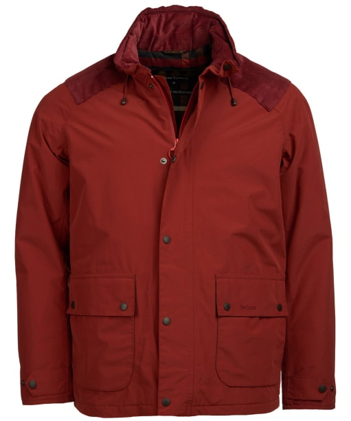 Men's Barbour Marple Waterproof Jacket - Russet