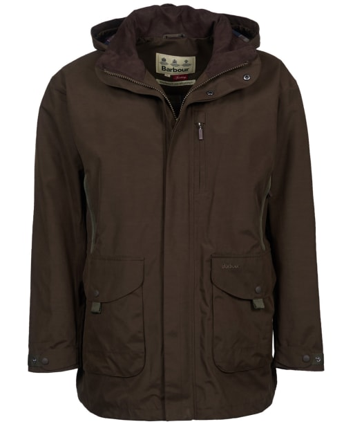 Men's Barbour Gosforth Waterproof Jacket - Dark Olive