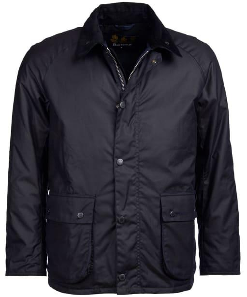 Men's Barbour Strathyre Waxed Jacket - Navy