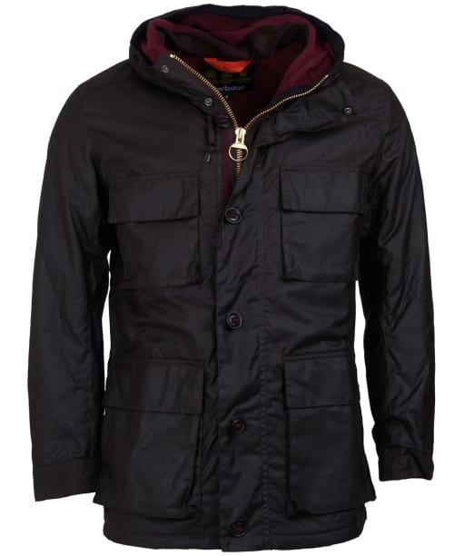 Men's Barbour Genoa Waxed Jacket - Rustic