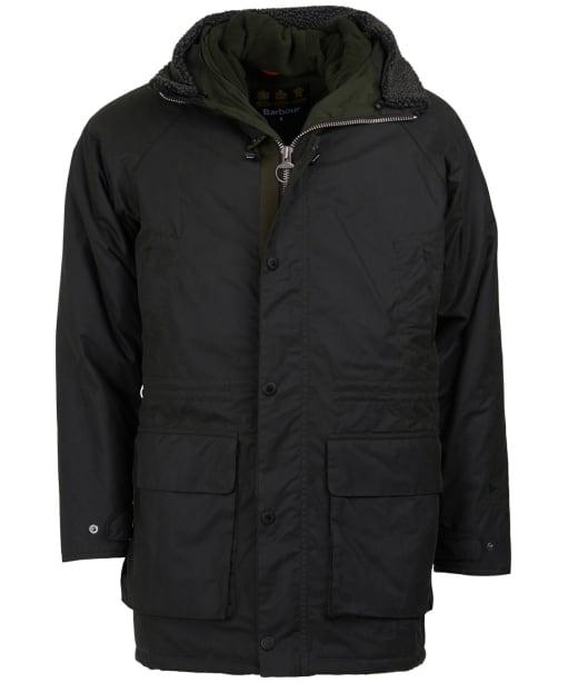 Men's Fenton Waxed Parka Jacket - Sage