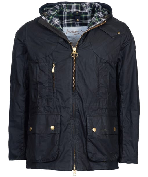 Men's Barbour Icons Lightweight Durham Waxed Cotton Jacket - Sage