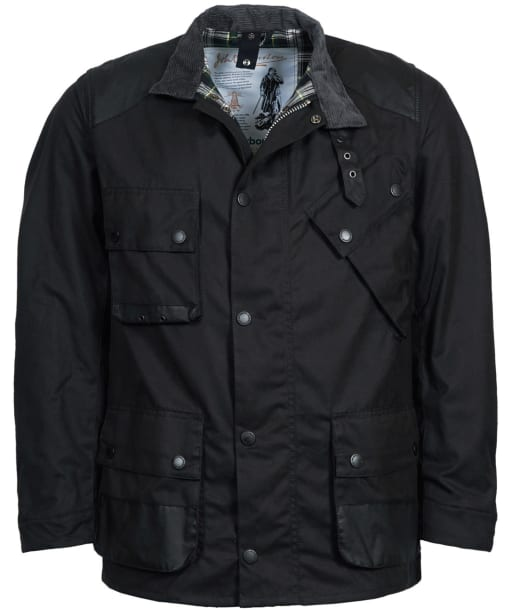 Men's Barbour Icons International Wax Jacket - Black