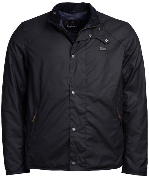 Men's Barbour International Ducal Wax Jacket - Navy