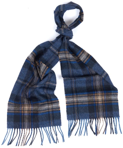 Barbour Rothwell Scarf - Blue / Stone