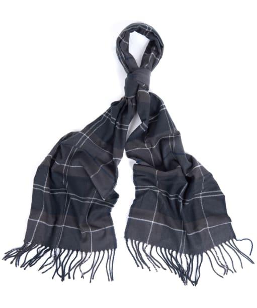 Barbour Galingale Tartan Scarf - Black / Grey