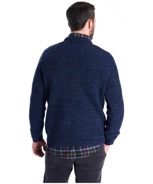 Men's Barbour Horseford Crew Neck Sweater - Navy