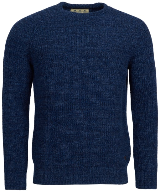Men's Barbour Horseford Crew Neck Sweater - Navy