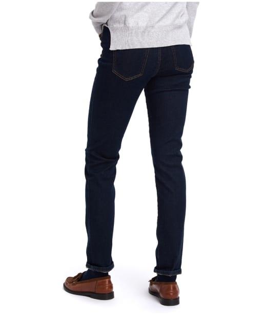 Women's Barbour Essential Slim Jeans - Rinse