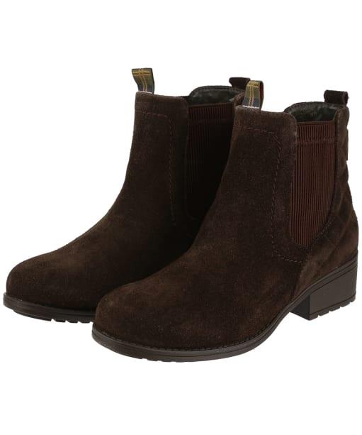 Women's Barbour Rimini Chelsea Boots - Brown Suede