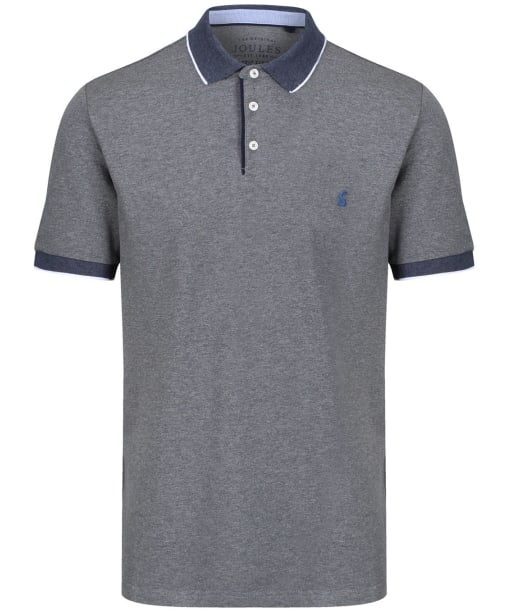 Men's Joules Hanfield Polo Shirt - Grey Marl