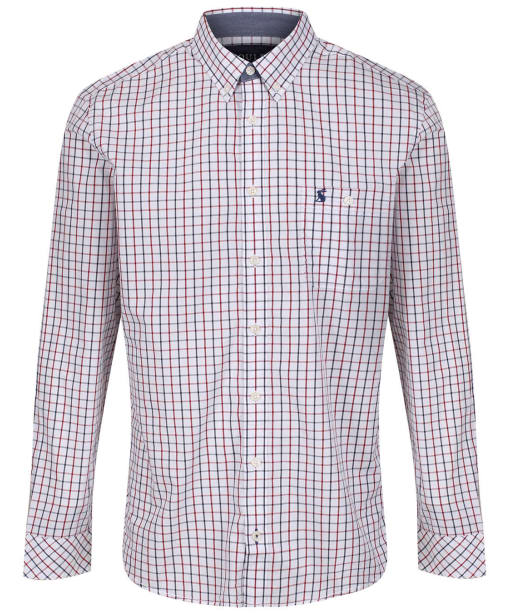 Men's Joules Abbott Classic Fit Shirt - White Spaced Check