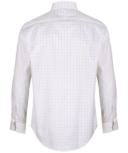 Men's Schoffel Buckden Shirt - Blue / Yellow / Brown Check