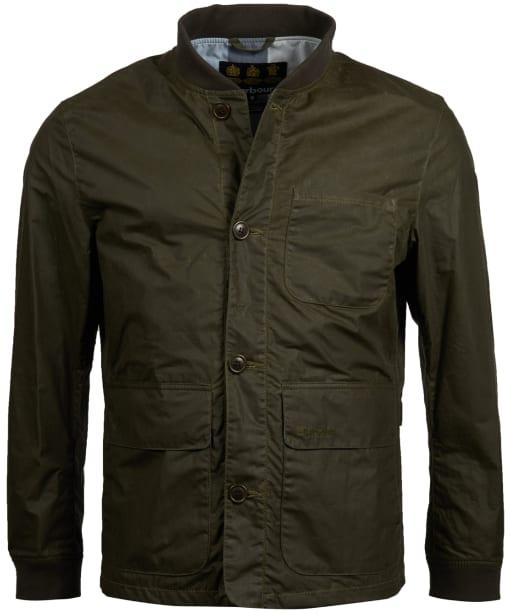 Men's Barbour Kirkstile Wax Jacket - Archive Olive