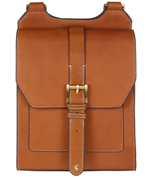 Women's Joules Stratford Leather Bag - Tan