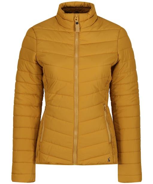 Women's Joules Harrogate Padded Jacket - Caramel