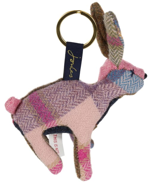 Women's Joules Tweedle Novelty Keyring - Brown Hare