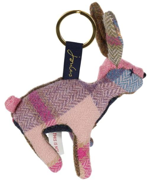 Women's Joules Tweedle Novelty Keyring - Brown Hare