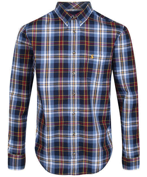 Men's Joules Lyndhurst Classic Poplin Shirt - Blue Multi Check