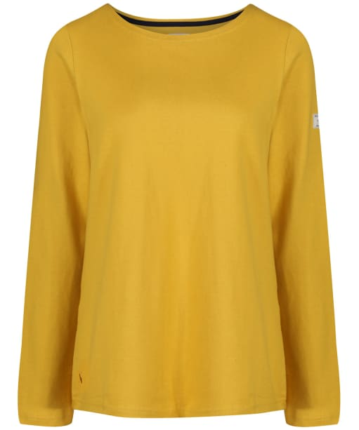 Women's Joules Harbour Solid Jersey Top - Antique Gold