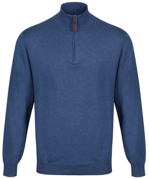 Men's R.M. Williams Ernest Sweater - Sea Blue