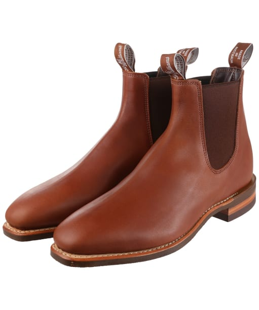 Men's R.M. Williams Comfort Craftsman Boots - G Fit - Caramel