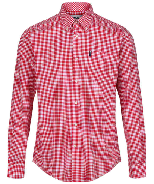 Men's Barbour Leonard Tailored Fit Shirt - Red