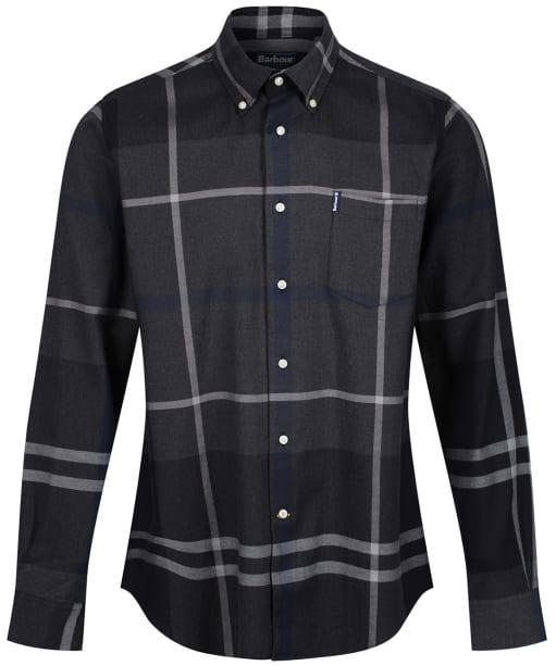 Men's Barbour Dunoon Shirt - New Graphite