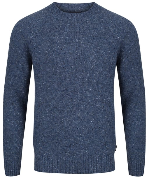 Men's Barbour Netherton Crew Neck Sweater - Chambray