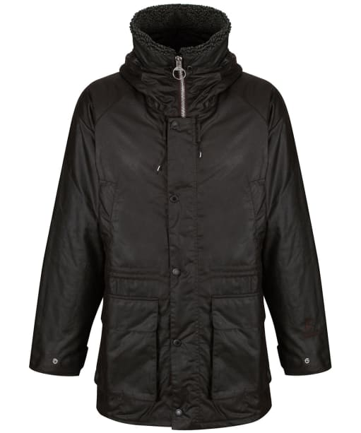 Men's Fenton Waxed Parka Jacket - Rustic