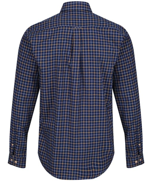Men's Barbour Bank Check Shirt - New Navy Check