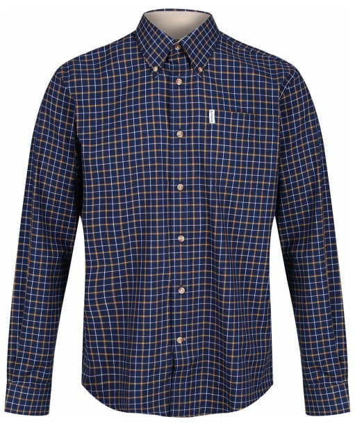 Men's Barbour Bank Check Shirt - New Navy Check