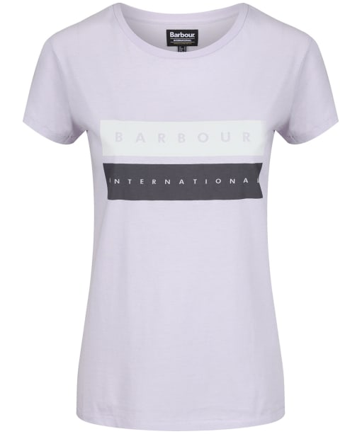 Women's Barbour International Garrow Tee - Haze