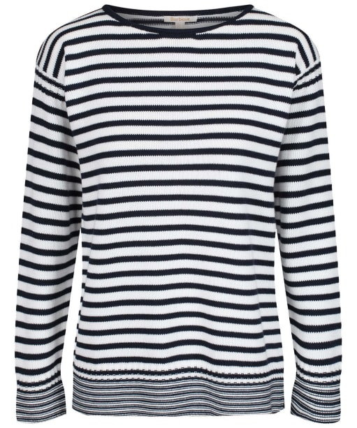 Women's Barbour Dover Knit Sweater - Off White