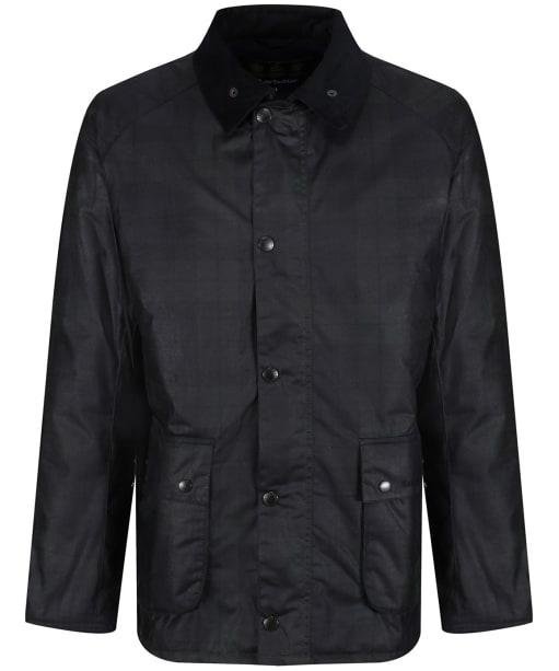 Men's Barbour Naburn Waxed Jacket - Black Watch