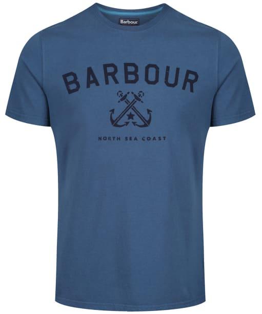 Men's Barbour Asher Tee - Deep Sea