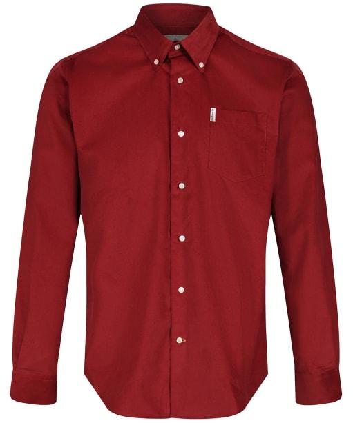 Men's Barbour Cord 1 Regular Shirt - Rust