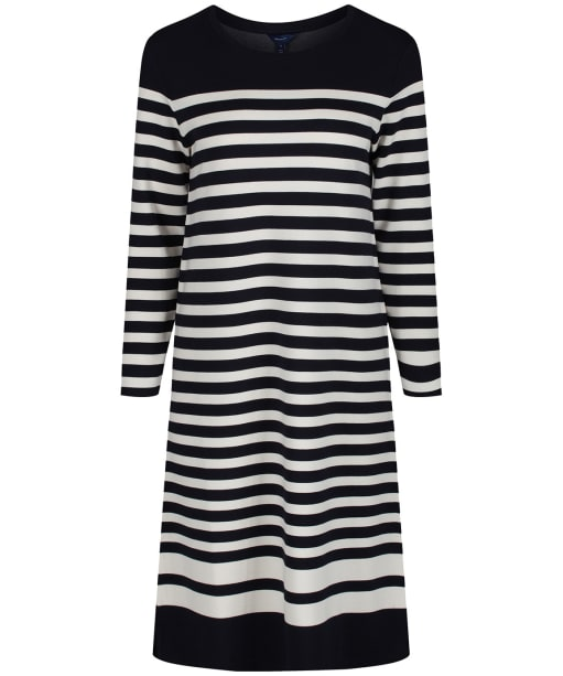 Women's GANT Striped Shift Dress - Evening Blue