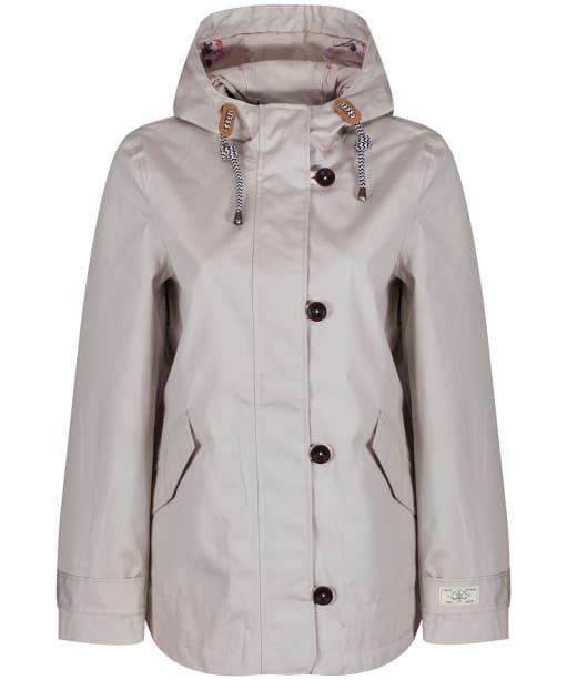 Women's Joules Coast Waterproof Jacket - Ivory