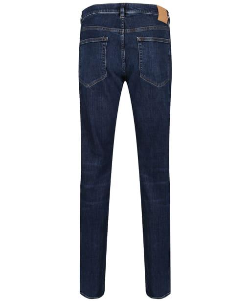 Men's GANT Slim Straight Jeans - Dark Blue Worn In