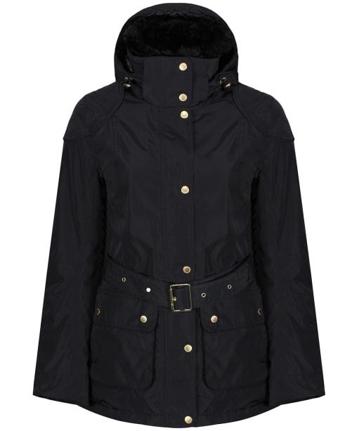 Women's Barbour International Bowden Waterproof Jacket - Black