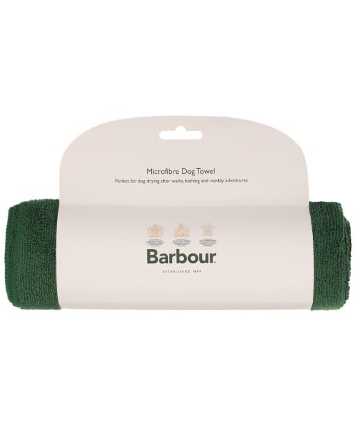 Barbour Micro-fibre Dog Towel - Green