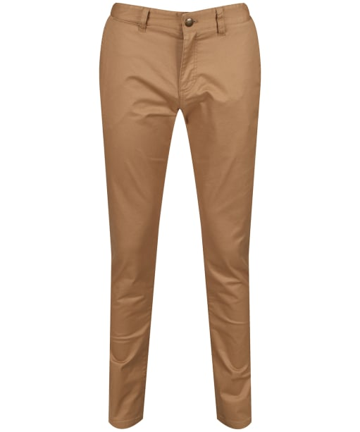 Men's Joules Laundered Slim Fit Chino Trousers - Corn