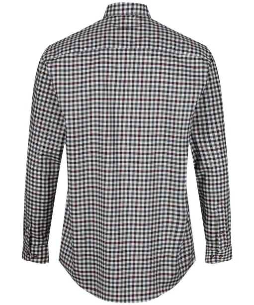 Men's Harkila Milford Shirt - Burgundy Check