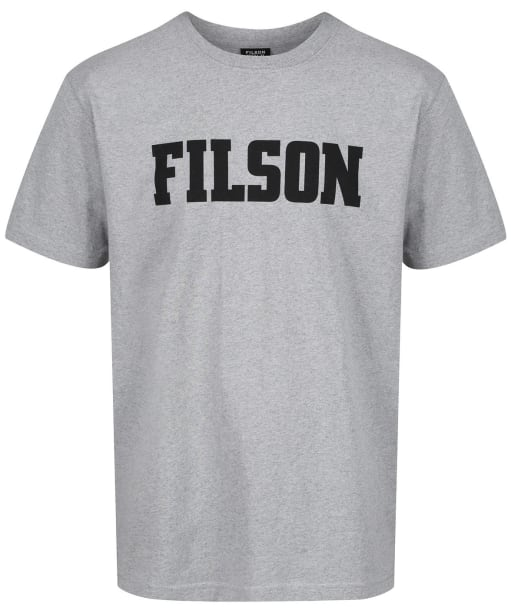 Men's Filson Short Sleeve Outfitter Tee - Grey Heather
