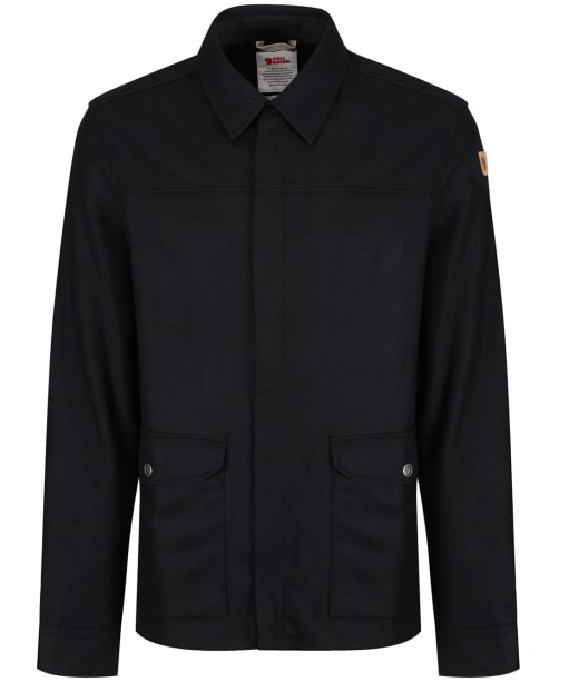 Men's Fjallraven Greenland Shirt Jacket - Black
