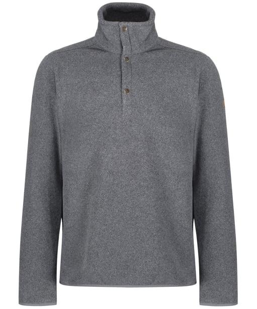 Men's Fjallraven Ovik Fleece Sweater - Dark Grey